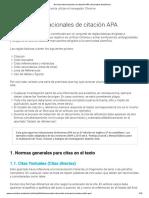 Normas Internacionales de Citación APA _ Normativa Académica