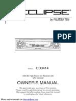 Eclipse - Fujitsu Ten Car Stereo System CD3414.pdf