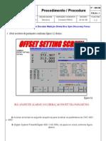 Cancelar Encoder Medição Direta Spin Fanuc