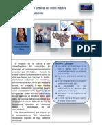Factores Externos de La Nueva Era en Los Hábitos Del Consumidor Venezolano Paola Machado