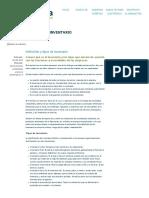 Definición y Tipos de Inventario - Soy Conta