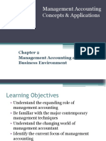 Chapter 2 Management ACcounting Environment