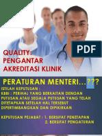 1. Konsep Mutu Dan Akreditasi Klinik