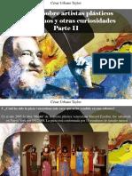 César Urbano Taylor - 9 Datos Sobre Artistas Plásticos Venezolanos y Otras Curiosidades, Parte II