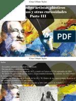 César Urbano Taylor - 9 Datos Sobre Artistas Plásticos Venezolanos y Otras Curiosidades, Parte III