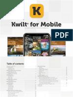 Kwilt for Mobile User Guide