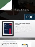 Presentacion Derecho Peticion