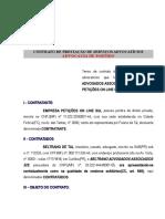 Modelo Contrato Honorarios Advocaticios Advocacia de Partido