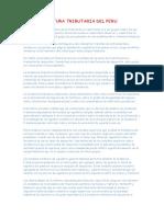 Estructura Tributaria Del Peru