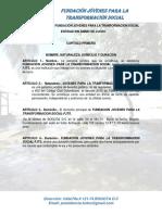 0_estatutos Final Jhoan Robledo PDF Borrador