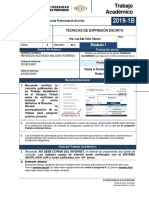 T.A-TECNICAS DE EXPRESION ESCRITA - 2018214557- NELSON RODRIGO MENDOZA ACEVEDO - CICLO II.docx