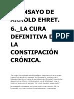 6. La Cura Definitiva de La Constipación Crónica