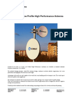 Datasheet 0.3m & 0.6m Parabolic Antenna