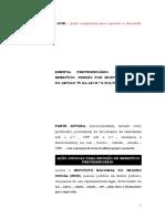 17.1- Pet. Inicial - Revisão - Pensão Por Morte Concedida Entre 29.04.1995 a 27.06.1997 - Cálculo Com Base No Salário-De-benefício Da Aposentadoria Originária