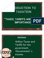 Taxation and Agrarian Reform