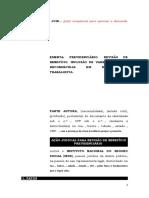 20.1- Pet. Inicial - Revisão - Aposentadoria - Inclusão de Parcelas Salariais Reconhecidas Em Reclamatória Trabalhista