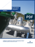 Brochure Catálogo de Válvulas de Control e Instrumentos Fisher Catalog of Fisher Control Valves Instruments Es 141160