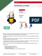 Equipo de Respiracin Msa 2216 Psig Aluminio