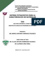Sistema Fotoacustico para la caracterizacion de materiales.pdf