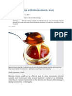 Honey can reverse antibiotic resistance.docx