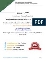 API 571 Demo