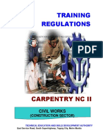 Carpentry NC II (Superseded)