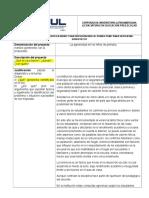 Guía de Presentacion de Proyectos