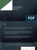 Cromatografía supercrítica