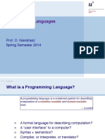 01Intro_Brief of Programming Languages NEW