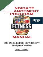 LAFD Fitness Log