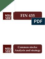 FIN 435 - Exam 3