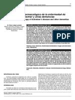 Tratamiento Farmacologico de La Enfermedad Del Alzheimer y Otras Demencias