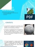 Concreto sostenible