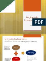2. Registro de Transacciones