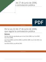 Ley 22 de junio de 2006