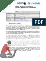 Programa - Taller de Educar en la Sociedad del Conocimiento - 2010