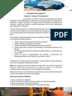 Actividad de aprendizaje 10_Evidencia 1_Artículo _Presupuestos..docx