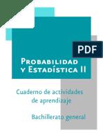 Probabilidad y Estadistica II