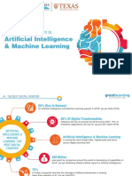 Artificial Intelligence Machine Learning Program Brochure