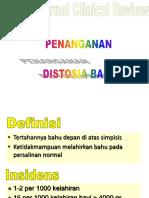 Distosia Bahu Alarm