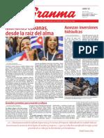DIARIO GRANMA 2019051309