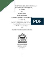 project report oin Training & Development1.docx