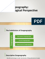 # 9 - Zoogeography in Ecological Perspective