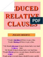 Reduced Relative Clauses-presentation-final Version
