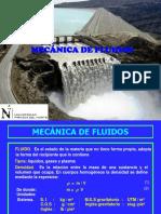 Mecánica de Fluidos - Presentación