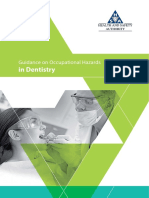 Guidance on Occupational Hazards in Dentistry
