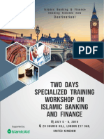 Islamic Banking and Finance Training - UK