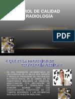 Control de Calidad en Radiología
