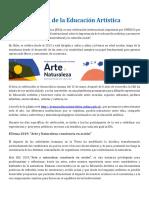 Semana de la Educación Artística.docx