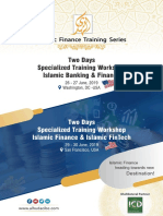 Islamic Banking & Finance and Islamic Fintech Training Series in USA